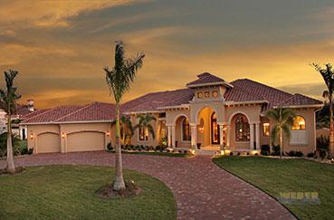 Элитная коллекция Энергоэффективных, экологически чистых, ураганоустойчивых домов во Флориде.